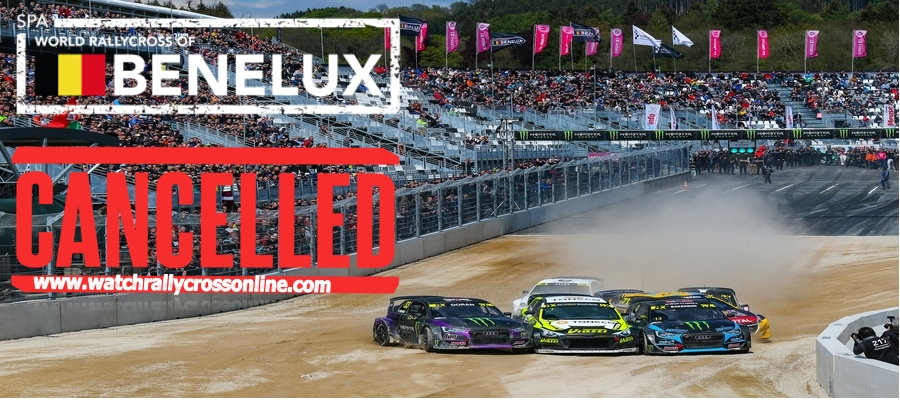 2020 Spa World Rallycross of Benelux was Canceled