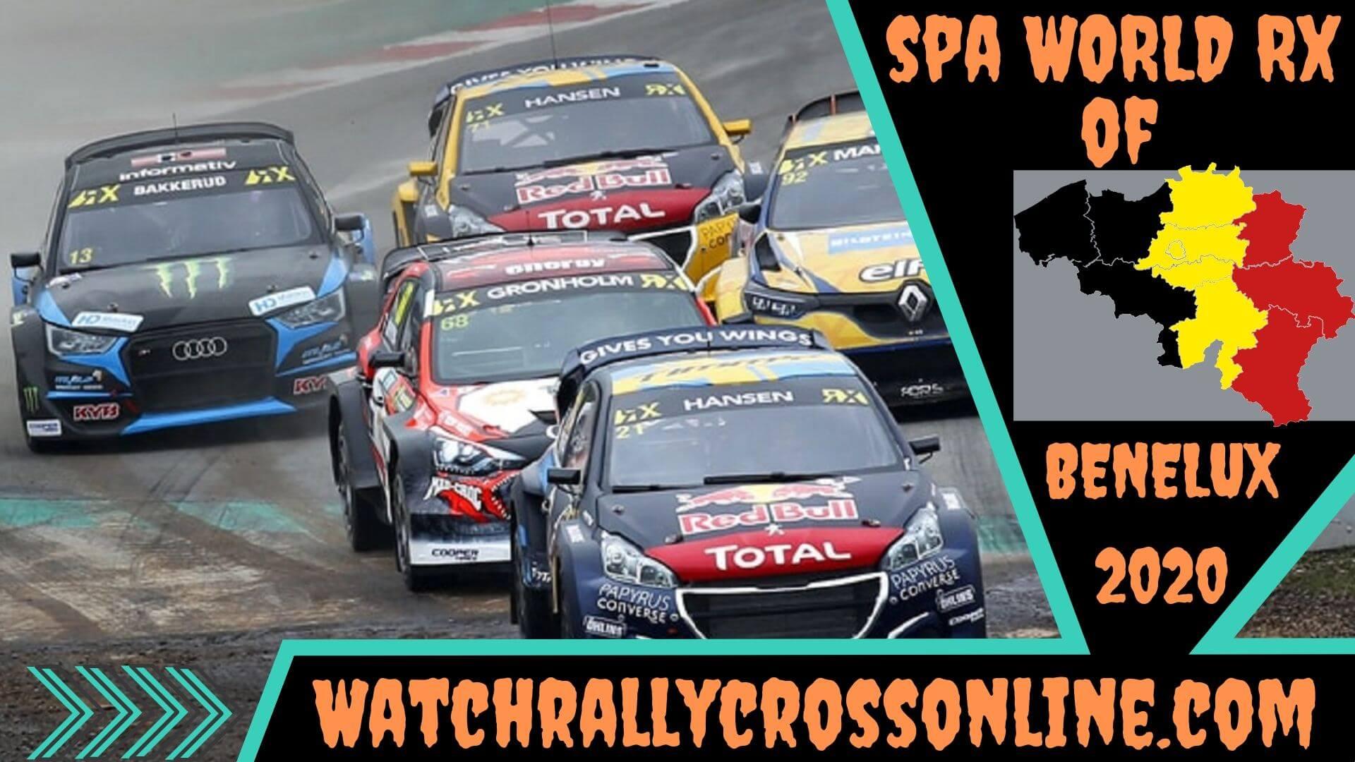 Spa World Rallycross of Benelux Live Stream 2020 | Round 3