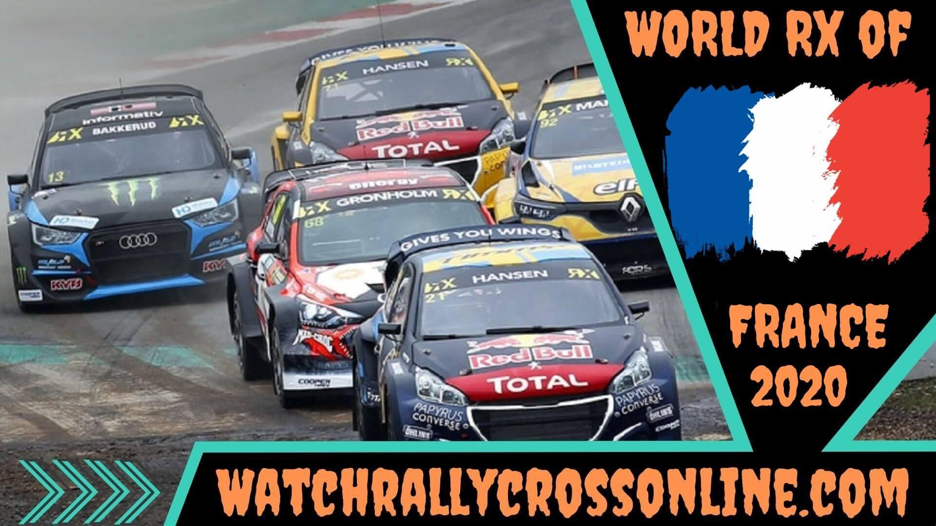 World Rallycross of France Live Stream 2020 | Round 8