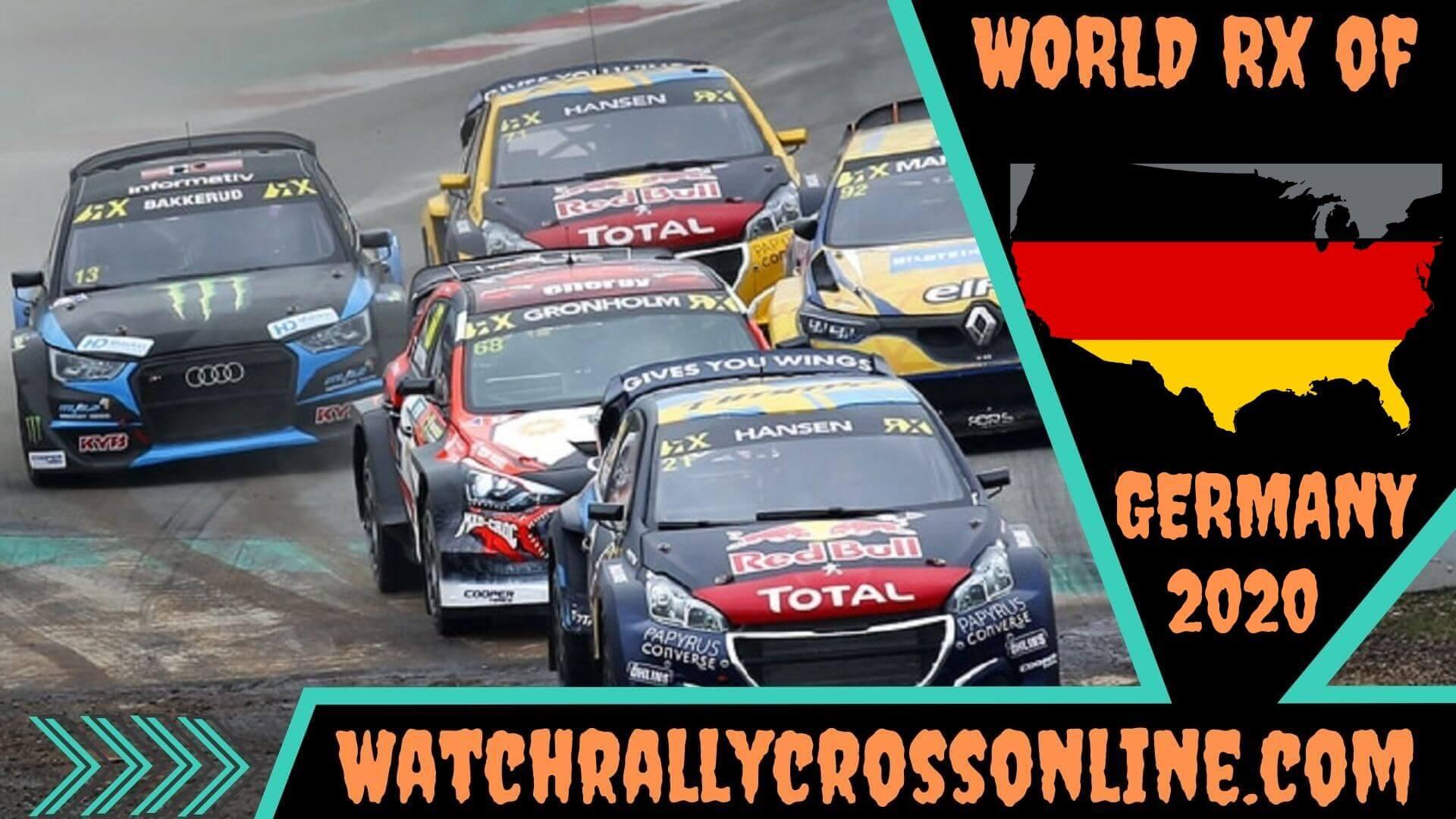 World Rallycross of Germany Live Stream 2020 | Round 7