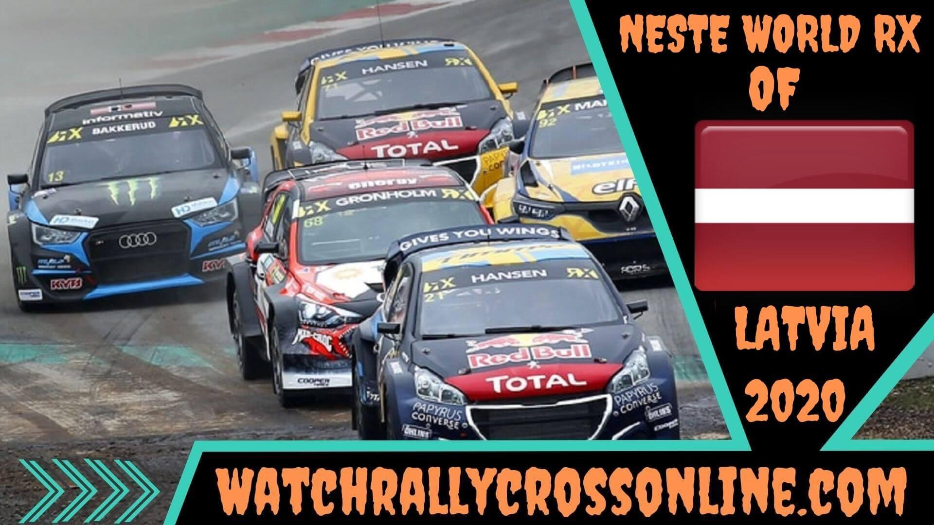 World Rallycross of Latvia Live Stream 2020 | Round 9