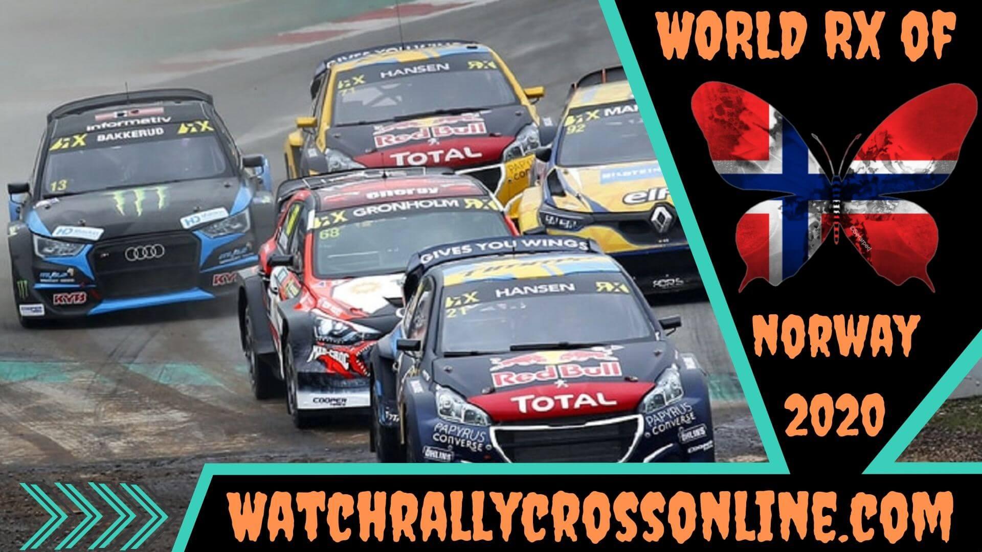 World Rallycross of Norway Live Stream 2020 | Round 4