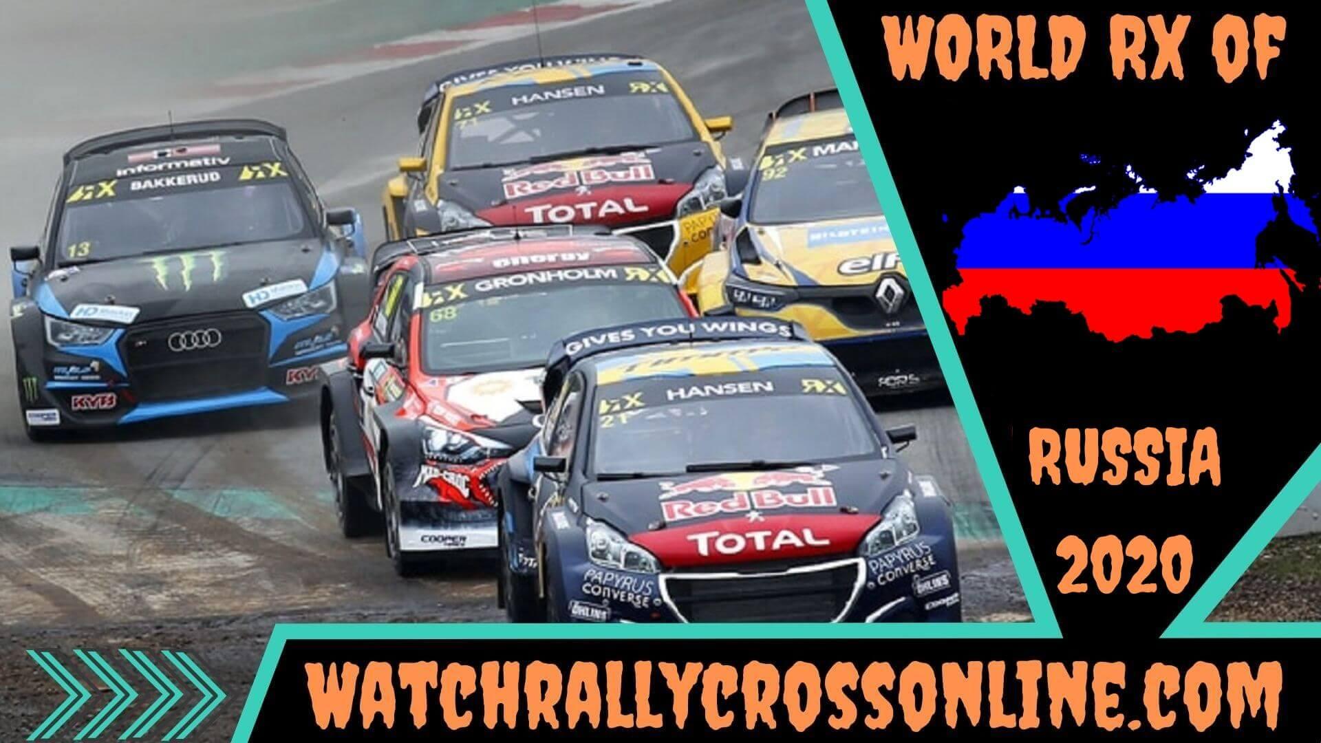 World Rallycross of Russia Live Stream 2020 | Round 6