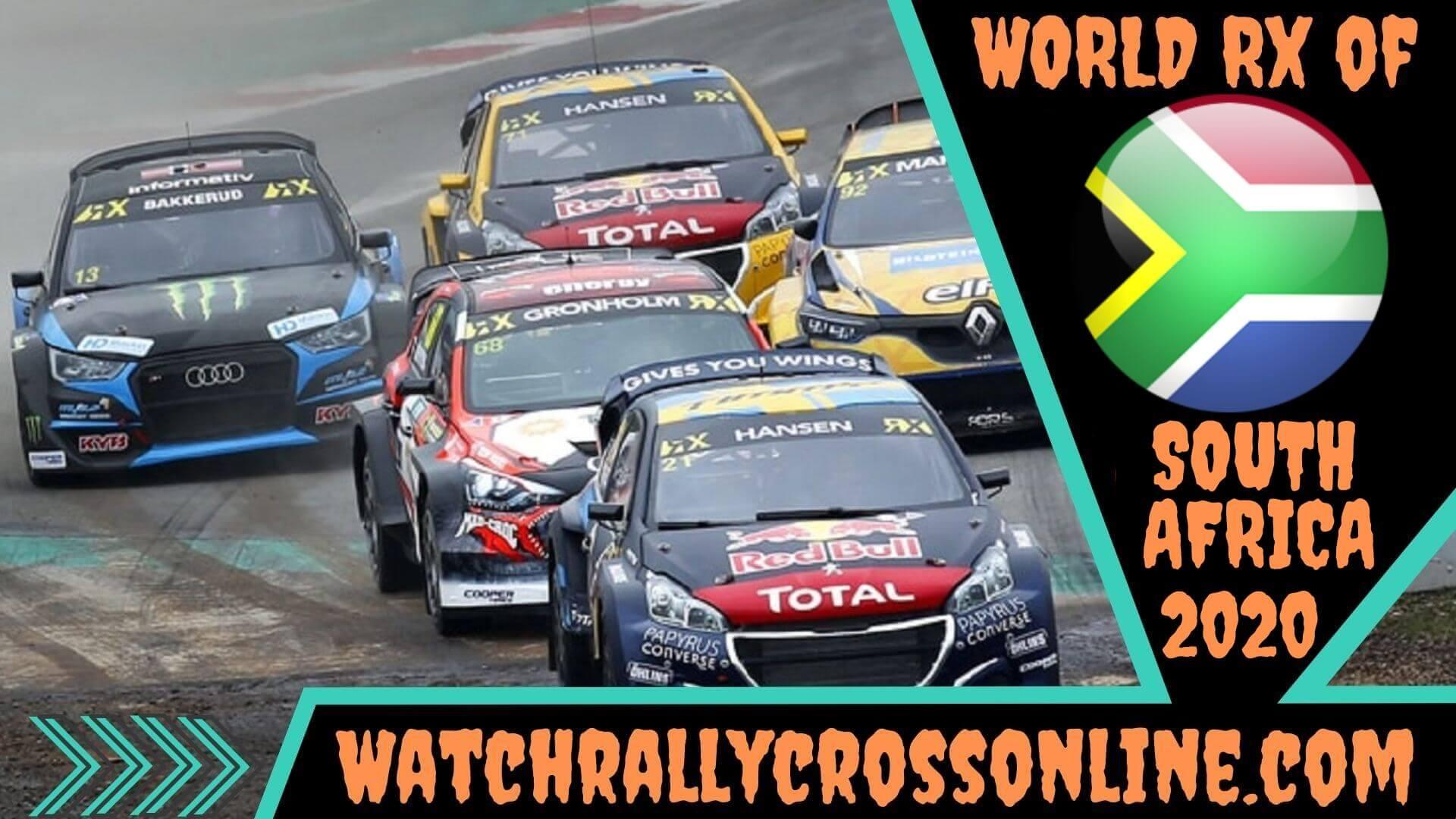 World Rallycross of South Africa Live Stream 2020 | Round 11