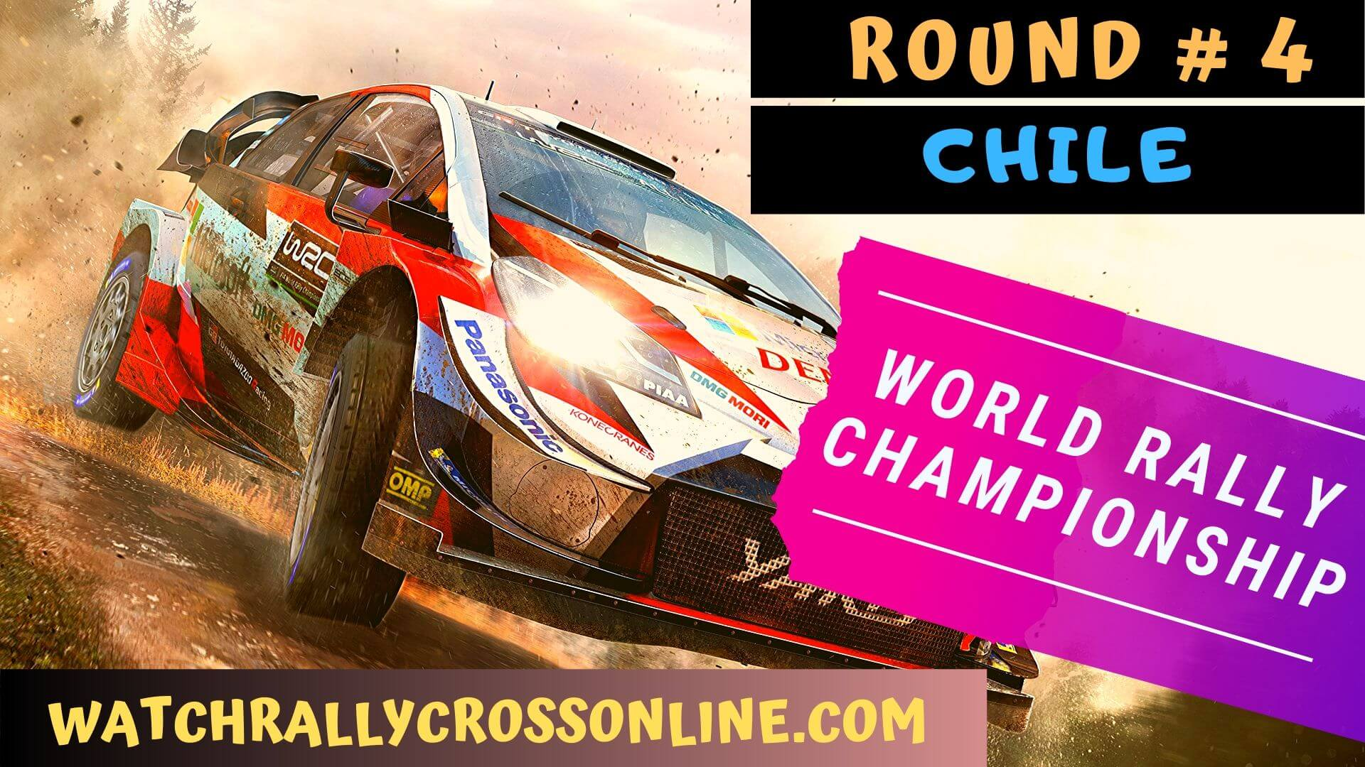 WRC Chile Live Stream 2020 | Round 4