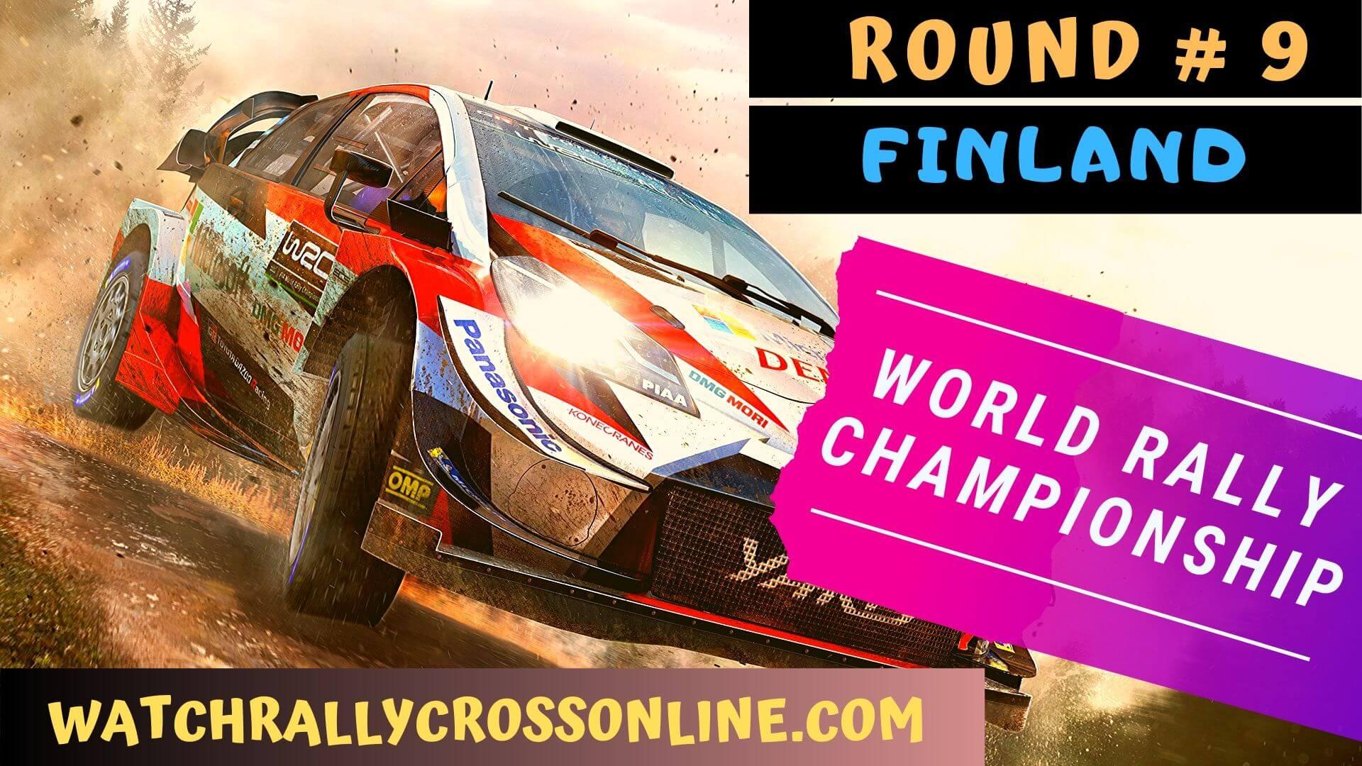 WRC Finland Live Stream 2020 | Round 9