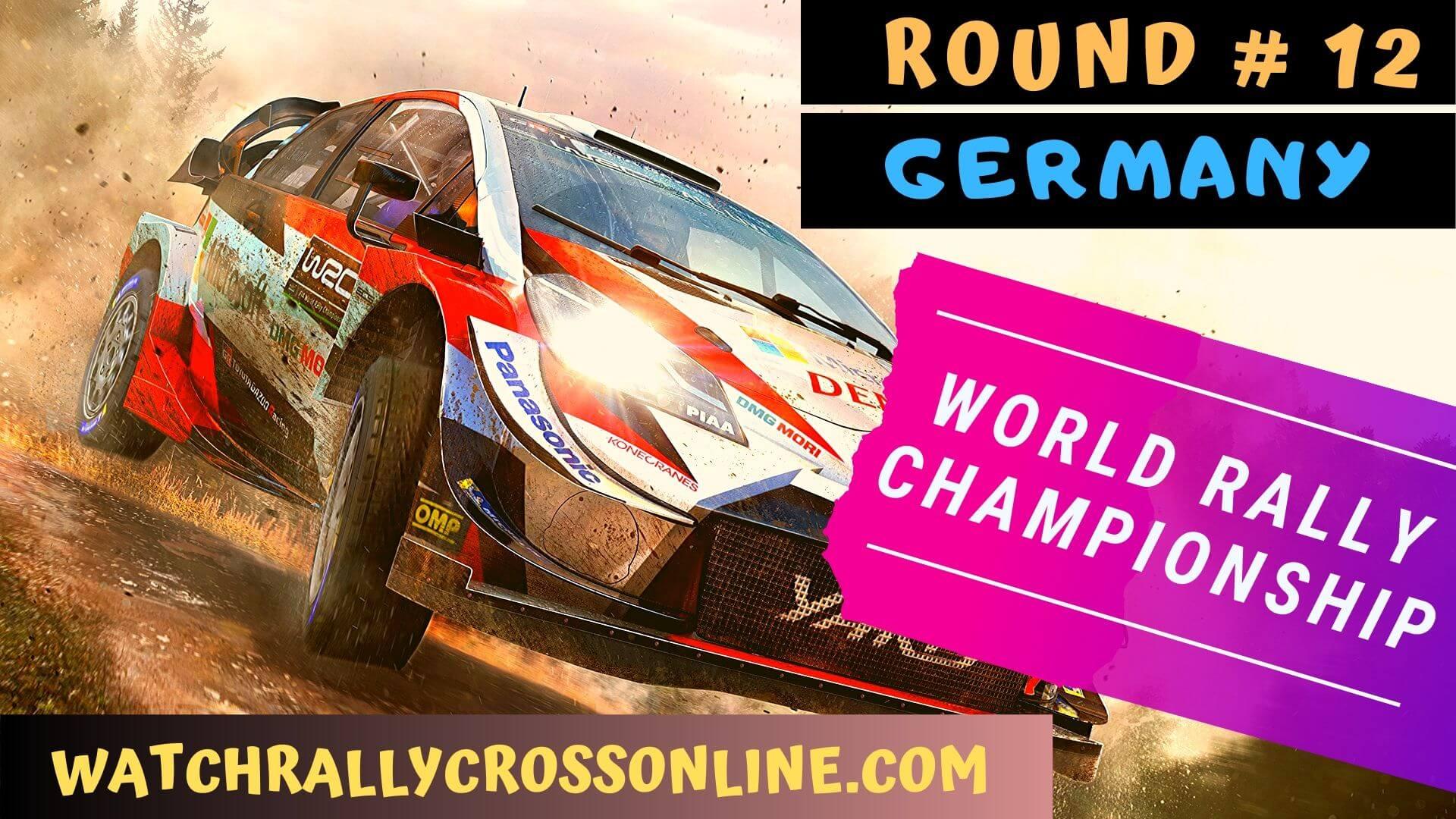 WRC Germany Live Stream 2020 | Round 12