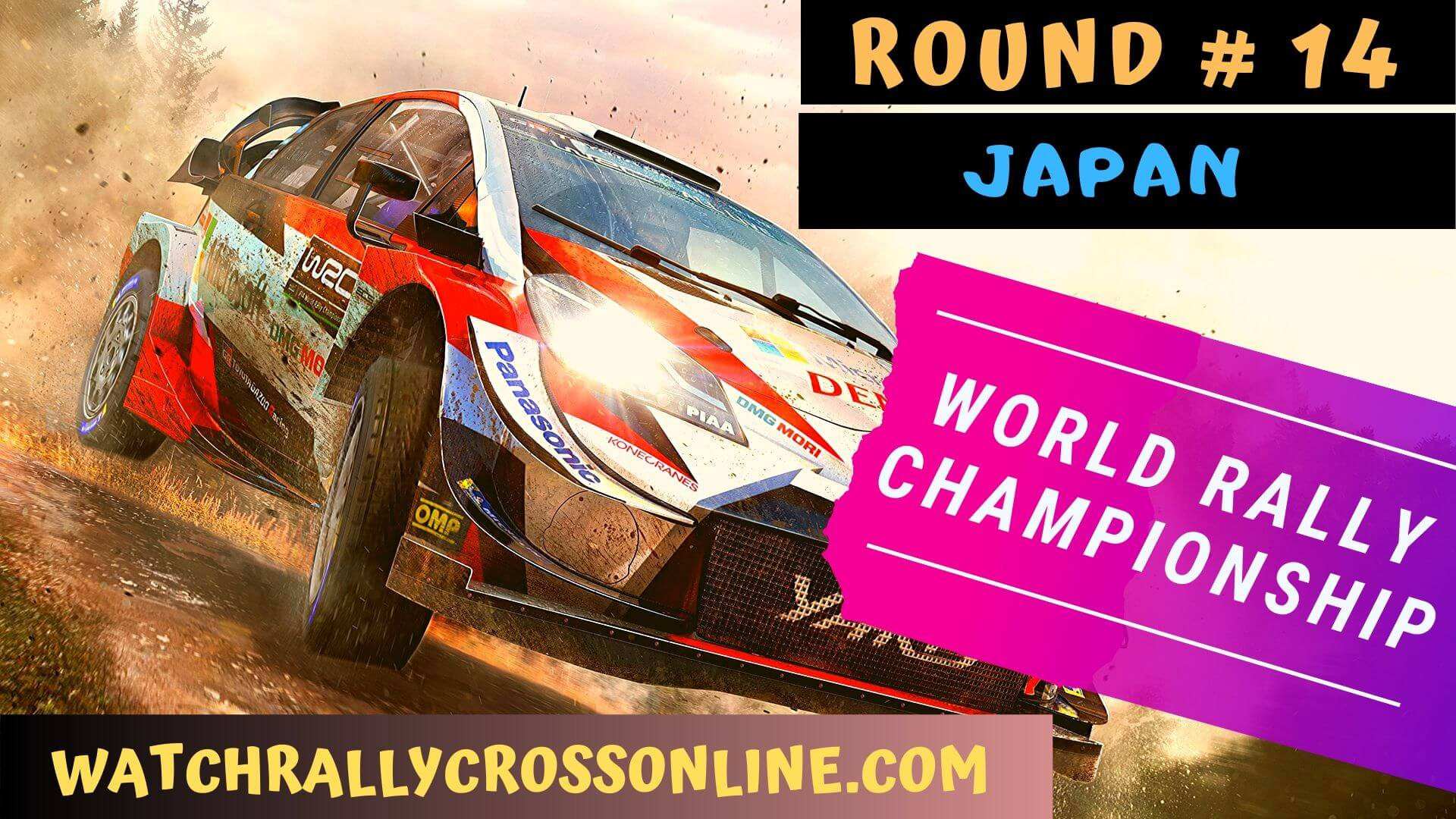WRC Japan Live Stream 2020 | Round 14