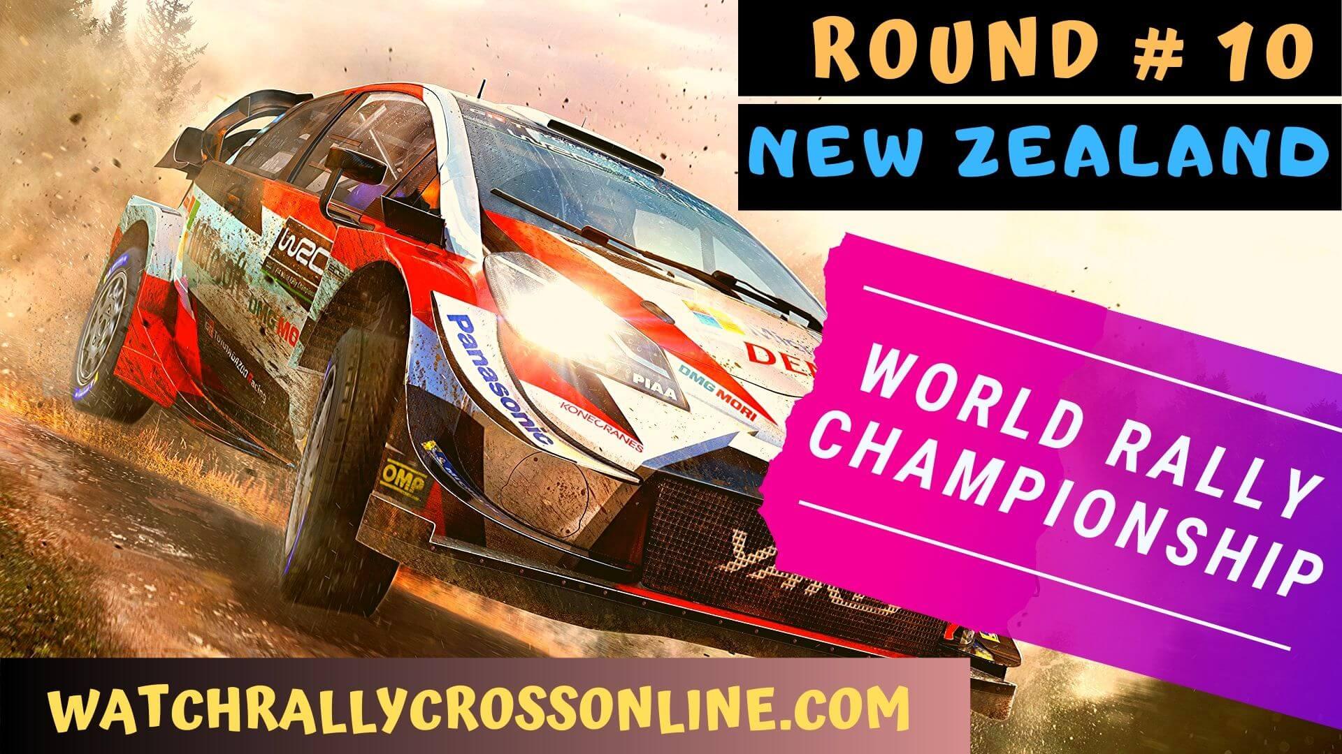 WRC New Zealand Live Stream 2020 | Round 10