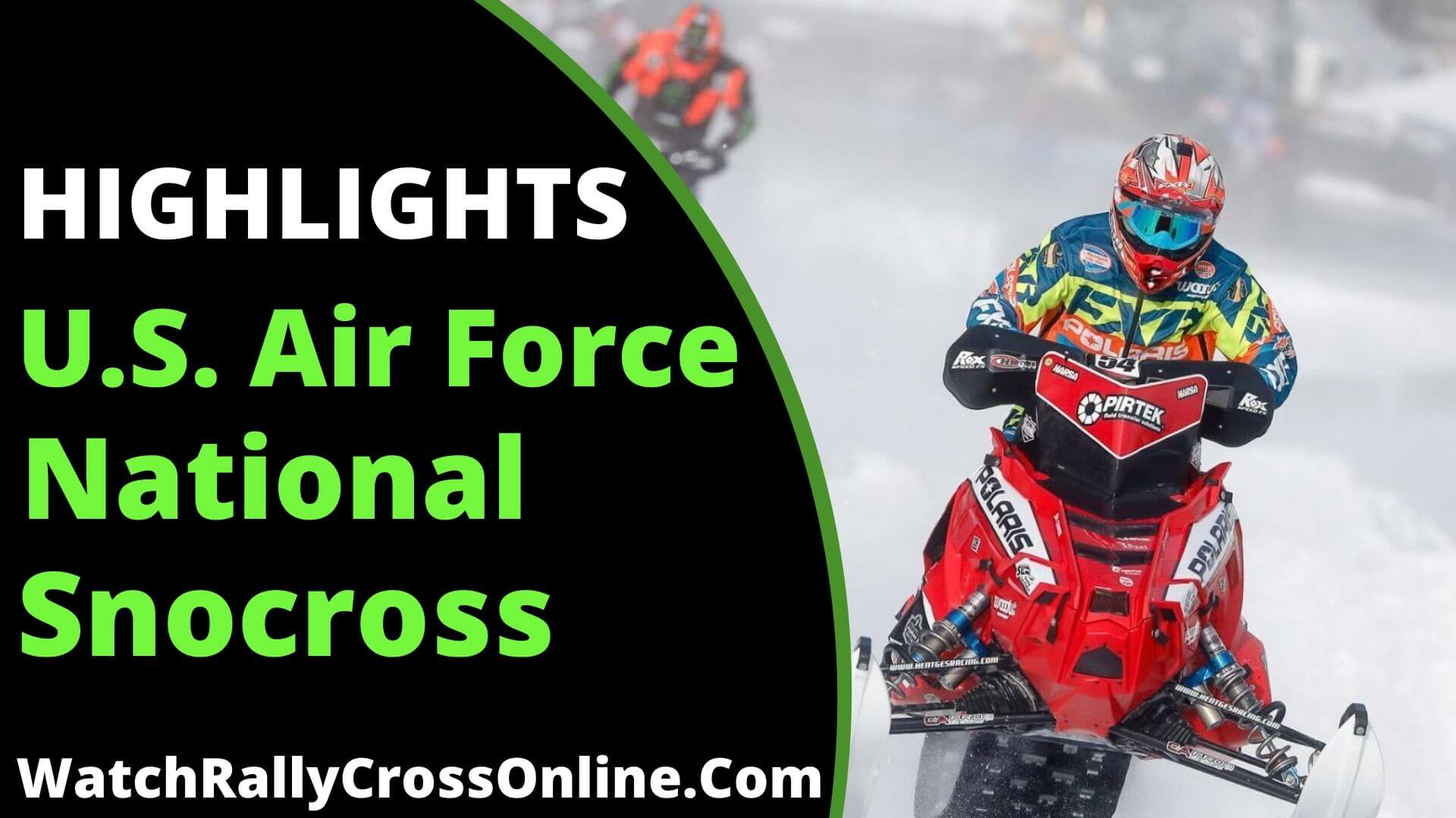 U.S. Air Force Snocross National Highlights 2019