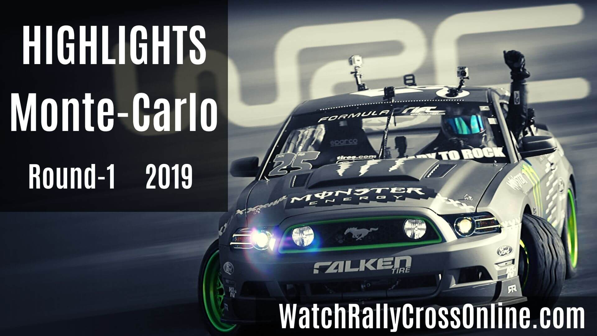 Monte Carlo WRC Rally Highlights 2019